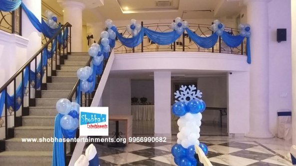 1st birthday frozen theme decorators in Hyderabad (1)