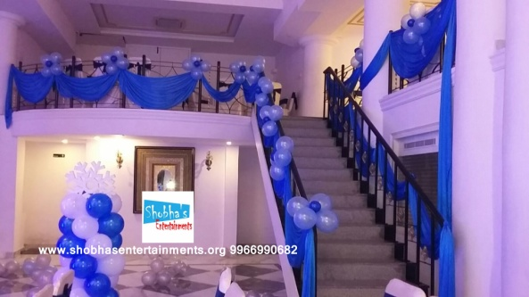 1st birthday frozen theme decorators in Hyderabad (2)