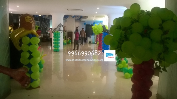 Balloon pillars (8)