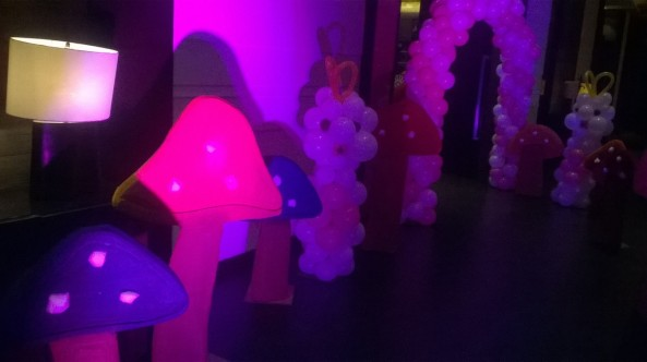 birthday party stage decorators and theme balloon decorators in hyderabad (2)