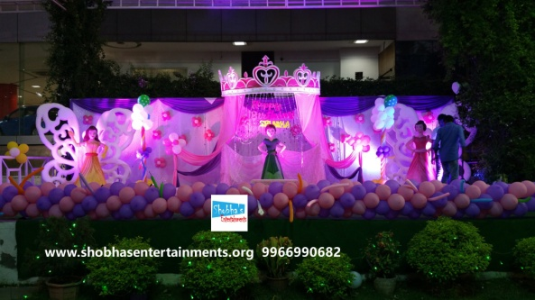 Elegant Princess Castle Theme Decorations For Your Baby Girl