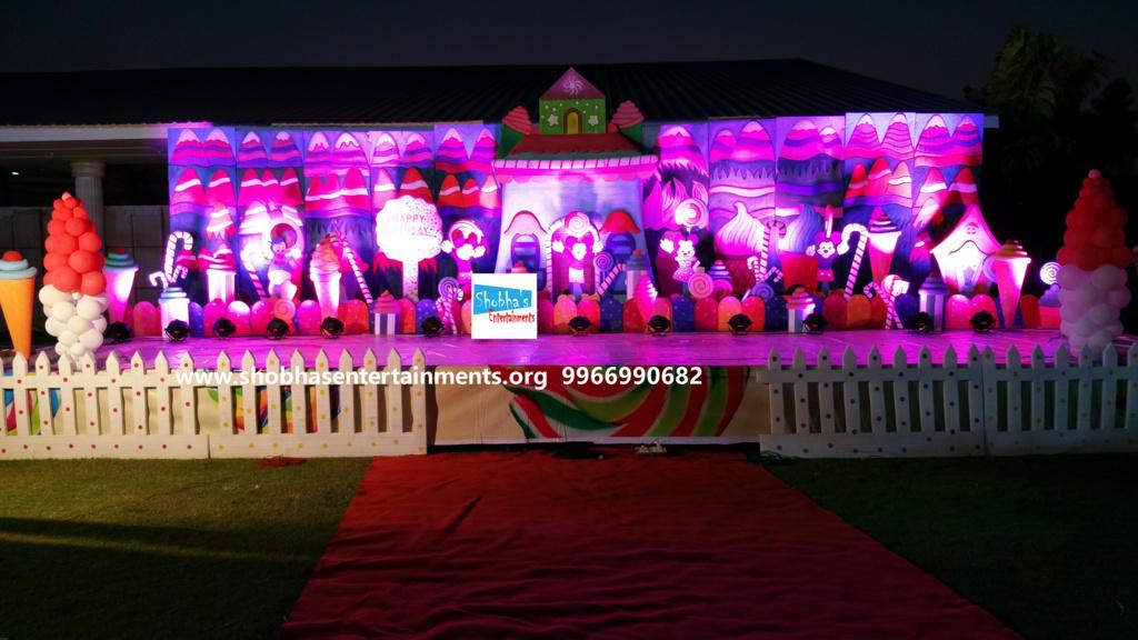 candyland theme birthday decorators 2 shobha s entertainments