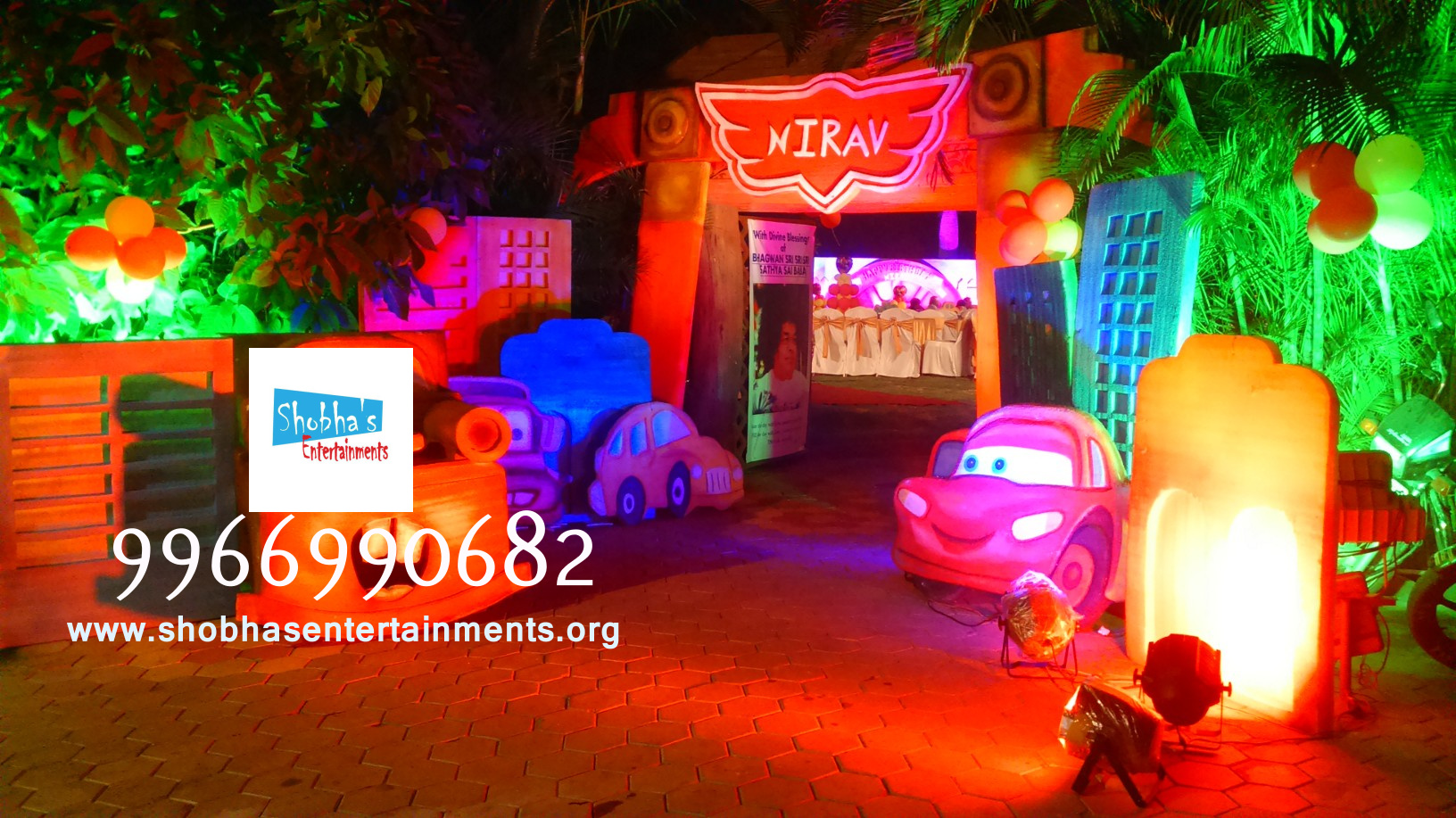3d stage decoration for birthday in hyderabad shobha 39 s for 1st birthday stage decoration hyderabad