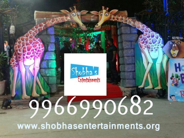 chotabheem and jungle and madgascar entrance