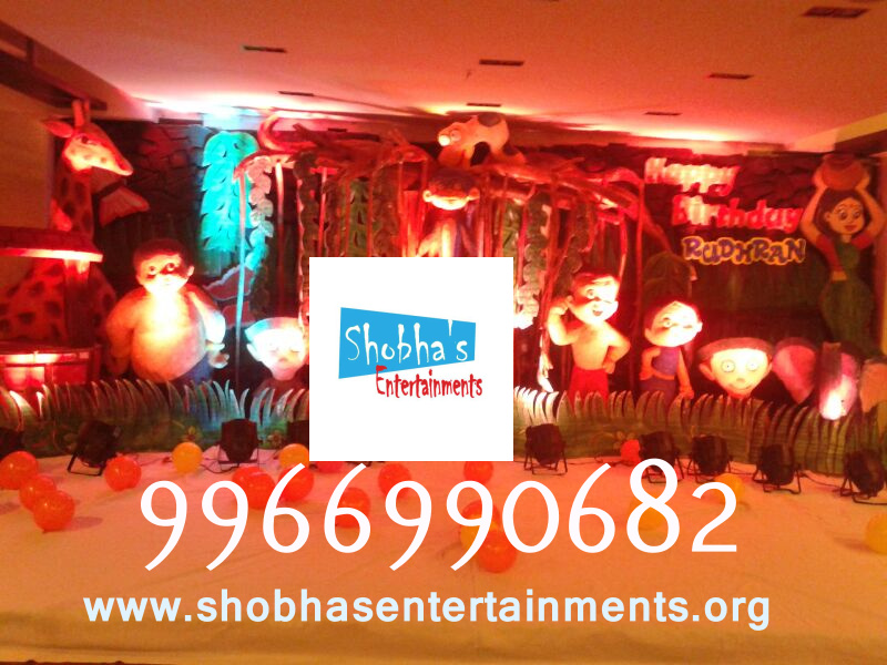 3d Chota Bheem Theme Stage In Hyderabad Shobha S Entertainments