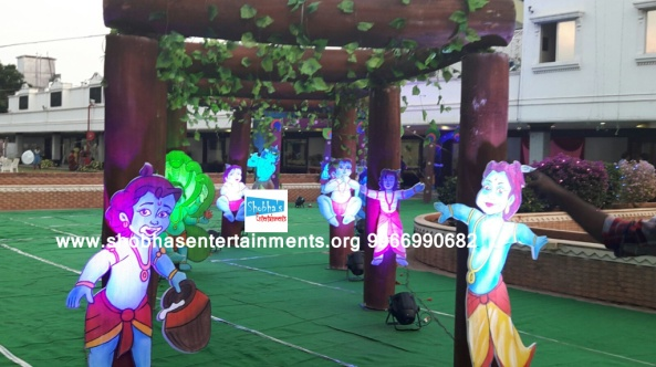 krishna theme birthday party decorators in Hyderabad (19)