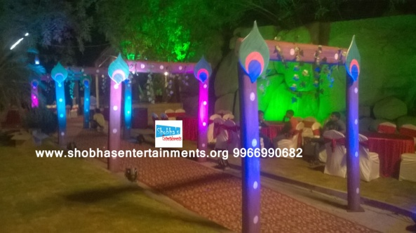 krishna theme birthday party decorators in Hyderabad (3)