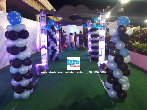 littleman theme birthday party decorations in hyderabad (1)