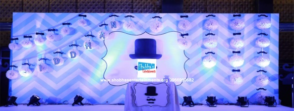 littleman theme birthday party decorations in hyderabad (11)