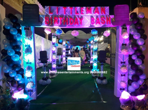 Littleman Theme Birthday Party Decorations In Hyderabad 21