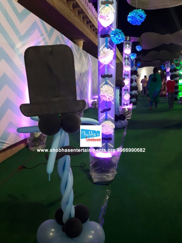 littleman theme birthday party decorations in hyderabad (23)
