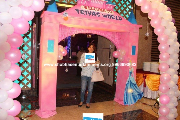 princess castle theme birthday party decorators in hyderabad (3)