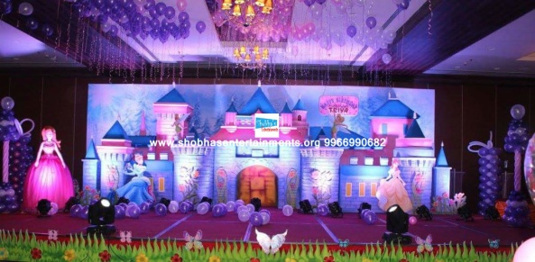 princess castle theme birthday party decorators in hyderabad (4)