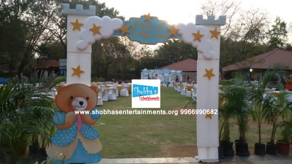 Teddy bear theme birthday party decorators in Hyderabad (1)