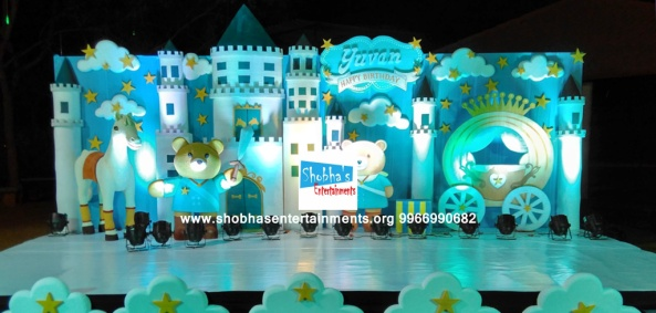 Teddy bear theme birthday party decorators in Hyderabad (3)