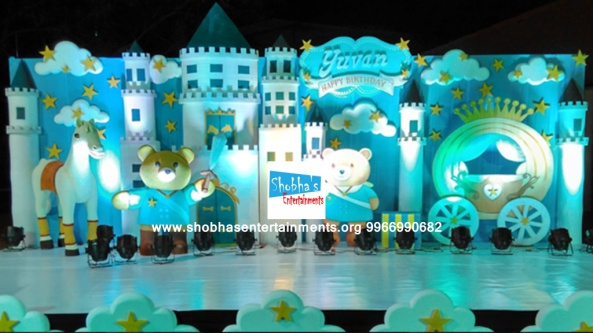 Teddy bear theme birthday party decorators in Hyderabad (4)
