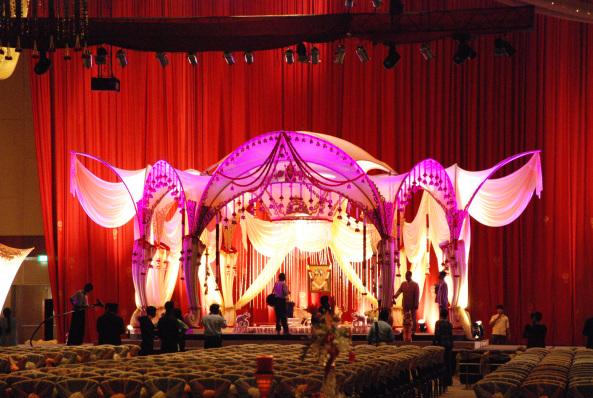 wedding and marriage flower decorators in hyderabad