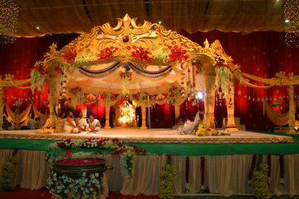 wedding and marriage flower decorators in hyderabad