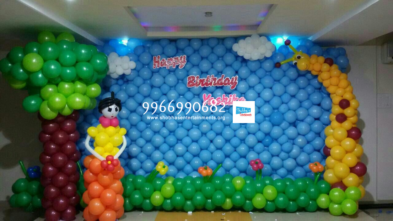 balloon decorations in hyderabad and secunderabad shobha