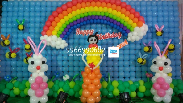 birthday balloon decorators in hyderabad and vijayawada