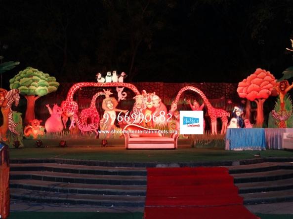 birthday stage decorators and birthday organizers in hyderabad