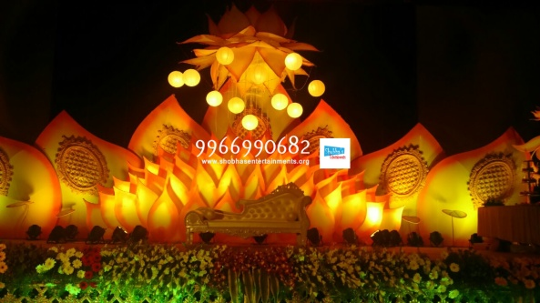 flower decorators, wedding and marriage mandap decorators and reception sangeet stage decorators in hyderabad (11)