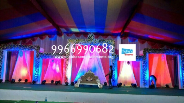 flower decorators, wedding and marriage mandap decorators and reception sangeet stage decorators in hyderabad (13)