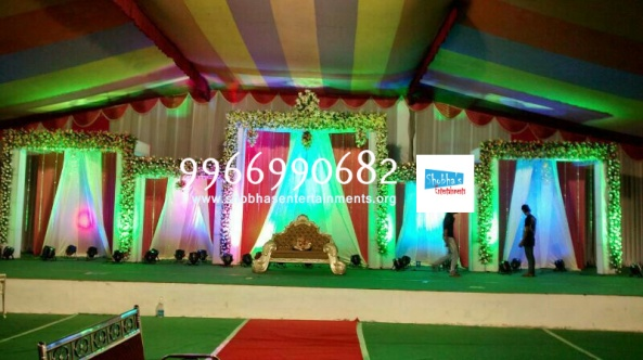 flower decorators, wedding and marriage mandap decorators and reception sangeet stage decorators in hyderabad (15)
