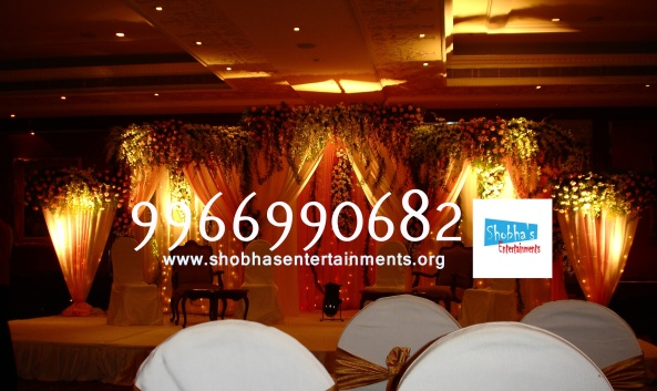 Reception decorations,engagement decorators, sangeet ceremony organizers , wedding flower decorations and event organizers in Hyderabad (11)
