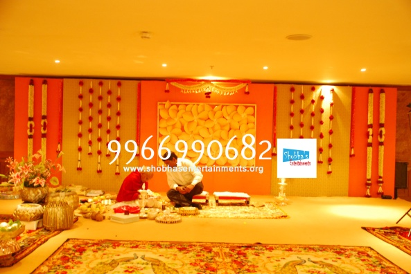 Reception decorations,engagement decorators, sangeet ceremony organizers , wedding flower decorations and event organizers in Hyderabad (12)