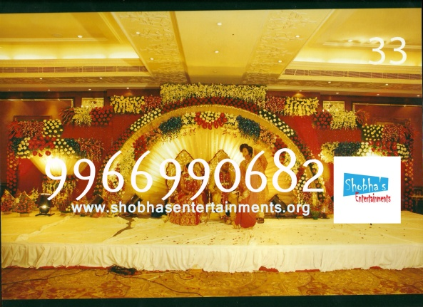 Reception decorations,engagement decorators, sangeet ceremony organizers , wedding flower decorations and event organizers in Hyderabad (13)