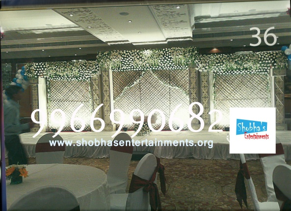 Reception decorations,engagement decorators, sangeet ceremony organizers , wedding flower decorations and event organizers in Hyderabad (14)
