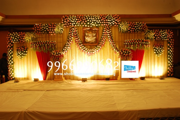 Reception decorations,engagement decorators, sangeet ceremony organizers , wedding flower decorations and event organizers in Hyderabad (18)