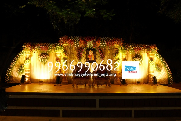 Reception decorations,engagement decorators, sangeet ceremony organizers , wedding flower decorations and event organizers in Hyderabad (19)