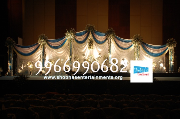 Reception decorations,engagement decorators, sangeet ceremony organizers , wedding flower decorations and event organizers in Hyderabad (2)