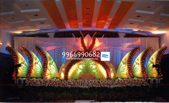 Reception decorations,engagement decorators, sangeet ceremony organizers , wedding flower decorations and event organizers in Hyderabad (20)