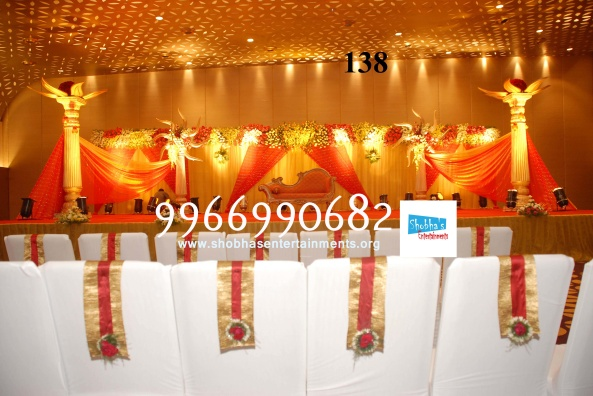 Reception decorations,engagement decorators, sangeet ceremony organizers , wedding flower decorations and event organizers in Hyderabad (22)