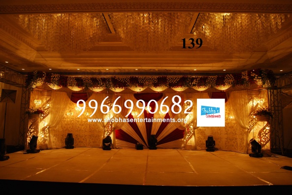 Reception decorations,engagement decorators, sangeet ceremony organizers , wedding flower decorations and event organizers in Hyderabad (23)