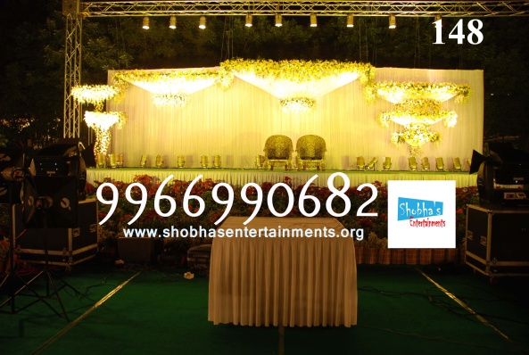Reception decorations,engagement decorators, sangeet ceremony organizers , wedding flower decorations and event organizers in Hyderabad (26)