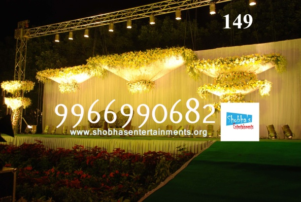 Reception decorations,engagement decorators, sangeet ceremony organizers , wedding flower decorations and event organizers in Hyderabad (27)