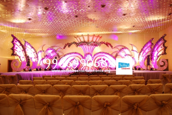 Reception decorations,engagement decorators, sangeet ceremony organizers , wedding flower decorations and event organizers in Hyderabad (29)