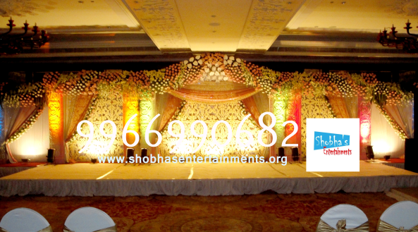 Reception decorations,engagement decorators, sangeet ceremony organizers , wedding flower decorations and event organizers in Hyderabad (3)