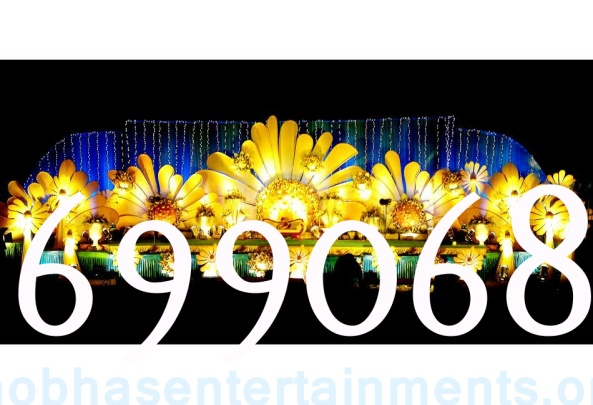 Reception decorations,engagement decorators, sangeet ceremony organizers , wedding flower decorations and event organizers in Hyderabad (35)