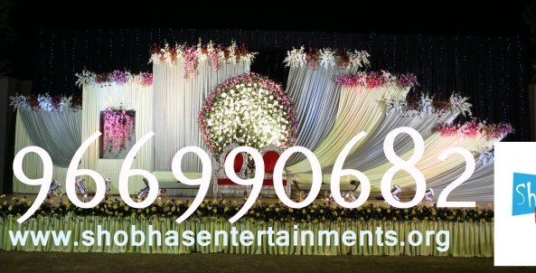 Reception decorations,engagement decorators, sangeet ceremony organizers , wedding flower decorations and event organizers in Hyderabad (37)