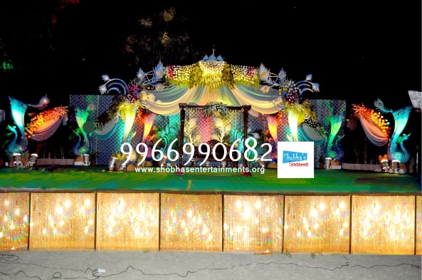 Reception decorations,engagement decorators, sangeet ceremony organizers , wedding flower decorations and event organizers in Hyderabad (38)