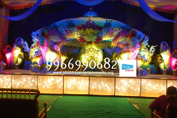 Reception decorations,engagement decorators, sangeet ceremony organizers , wedding flower decorations and event organizers in Hyderabad (39)