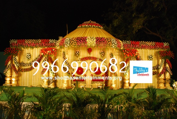 Reception decorations,engagement decorators, sangeet ceremony organizers , wedding flower decorations and event organizers in Hyderabad (40)