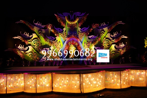 Reception decorations,engagement decorators, sangeet ceremony organizers , wedding flower decorations and event organizers in Hyderabad (49)
