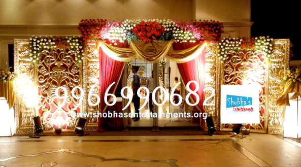 Reception decorations,engagement decorators, sangeet ceremony organizers , wedding flower decorations and event organizers in Hyderabad (5)