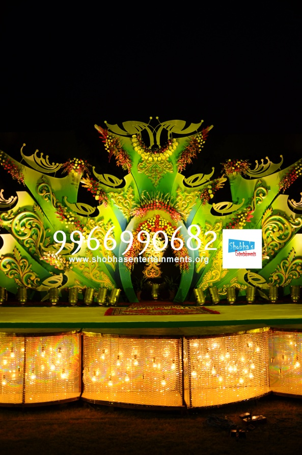 Reception decorations,engagement decorators, sangeet ceremony organizers , wedding flower decorations and event organizers in Hyderabad (50)